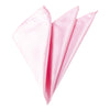 Plain Satin Pocket Square - Baby Pink