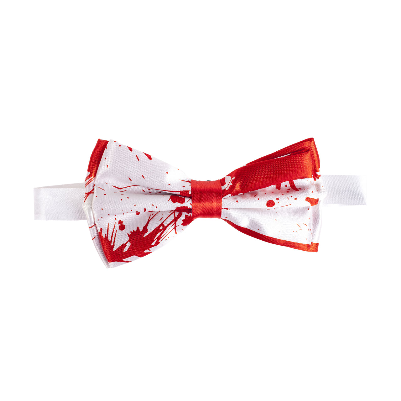 Pre-tied Printed Bow Tie - Blood Stained