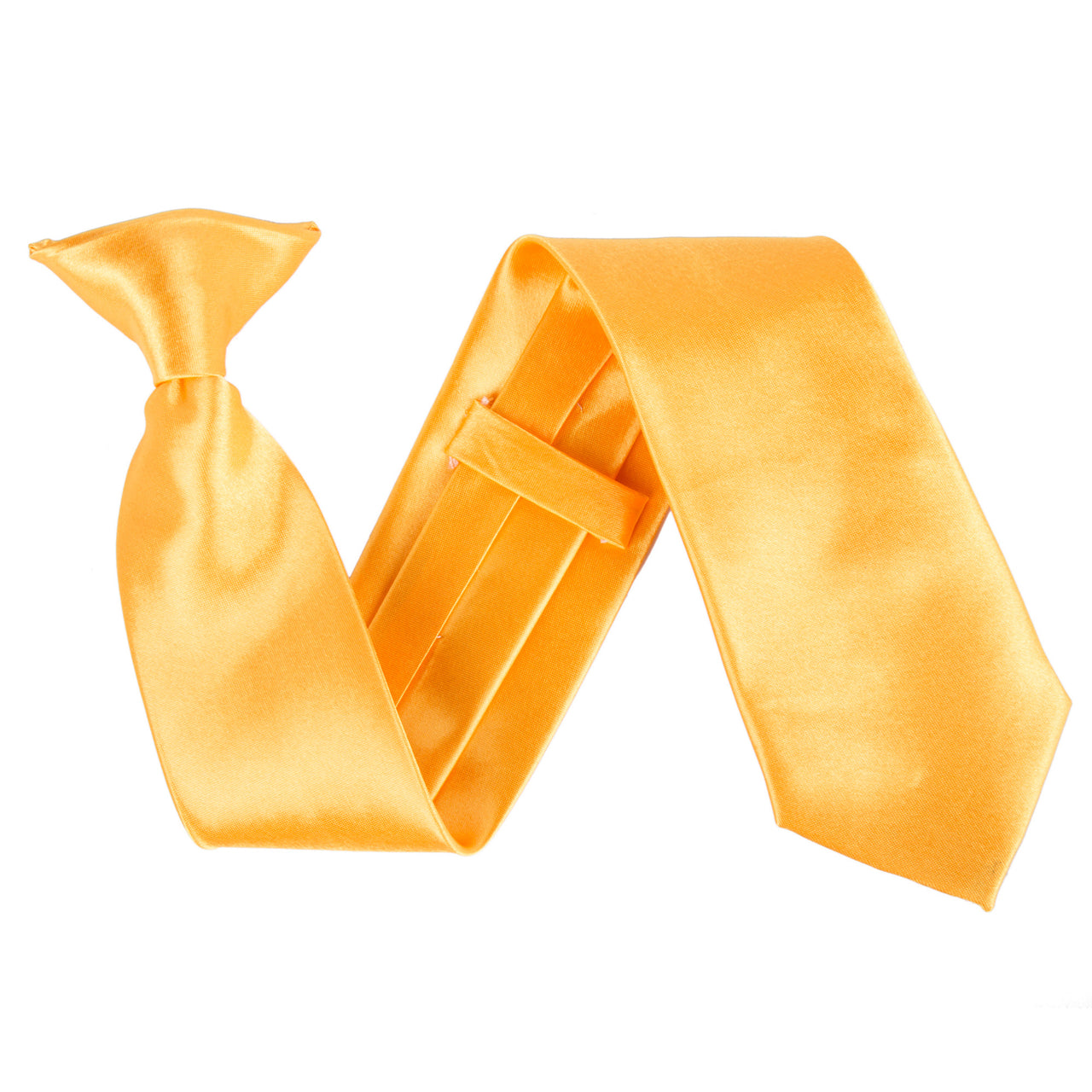 "Wide 3"" Clip On Safety Tie - Marigold"
