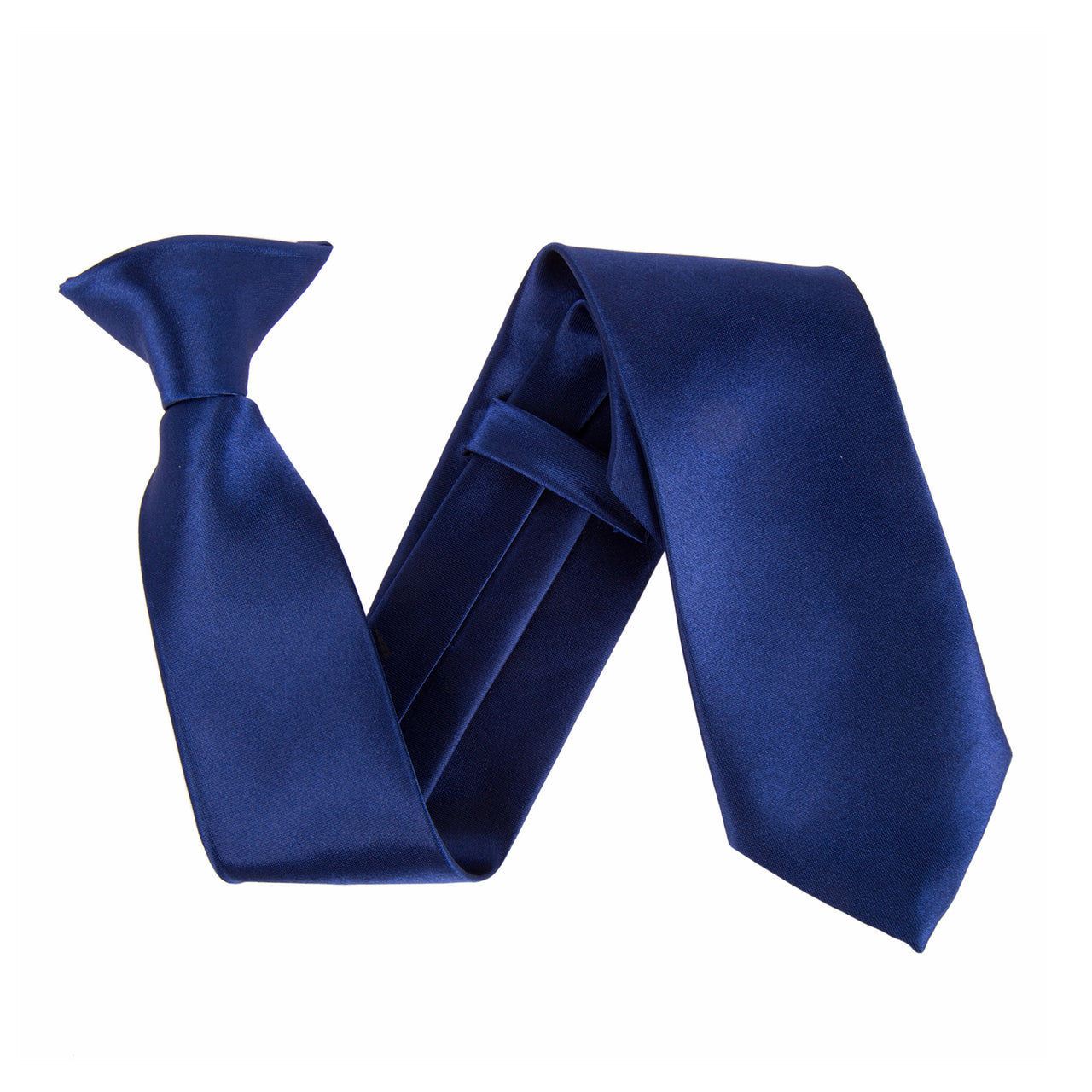 "Wide 3"" Clip On Safety Tie - Navy"