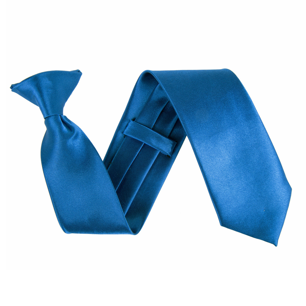 "Wide 3"" Clip On Safety Tie - Royal Blue"