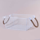 JUTE WIRE BASKET
