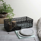 AZTEC BLACK BASKET