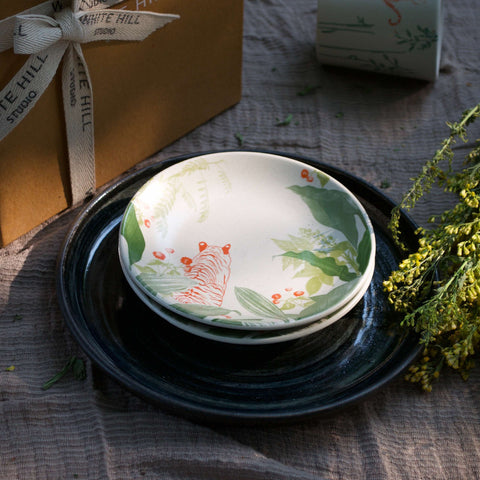 LANTANA APPETIZER PLATES - SET of 6