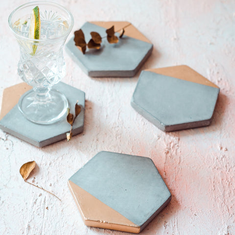 KONCRETE COASTERS - SET OF 4