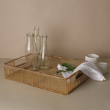 LATTICE SERVING TRAY