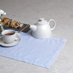LINEN BASICS TABLE MAT SKY BLUE - S/6