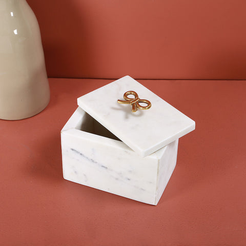 RIBBON MARBLE BOX