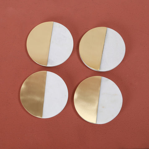 MELD ROUND COASTERS - SET OF 4