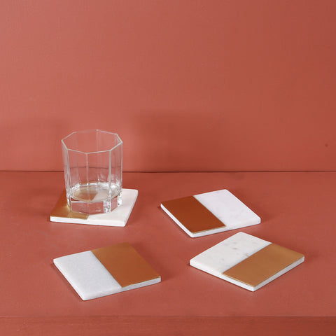 MELD SQUARE COASTERS - SET OF 4