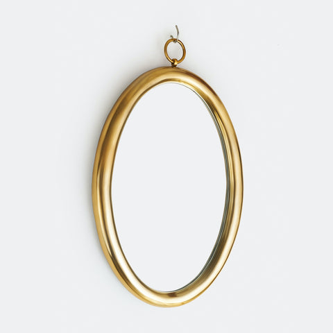 LOOKING GLASS OVAL WALL MIRROR