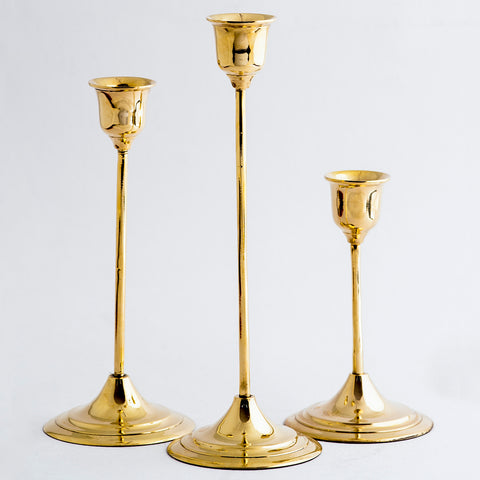 JAZZ CANDLEHOLDERS Set of 3