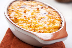 Gluten Free Baked Mac n' Cheese