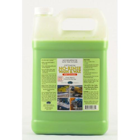 Optimum No Rinse Wash & Wax 1 Gallon
