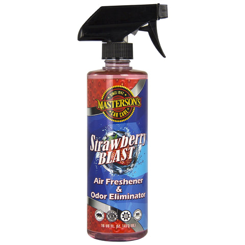 Masterson's STRAWBERRY BLAST AIR FRESHENER & ODOR ELIMINATOR (16 oz) - MCC_120_16