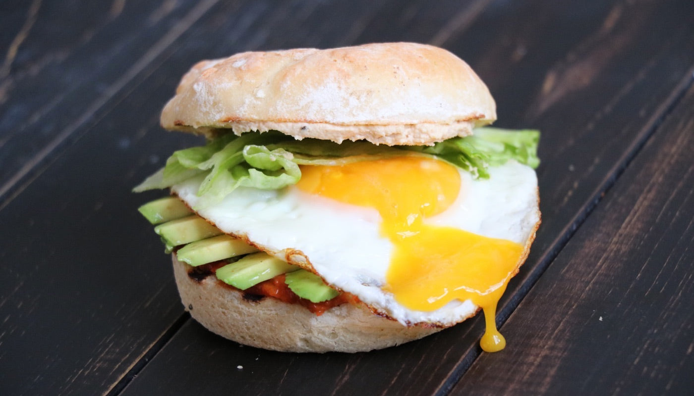 Powelled Pork Breakfast Sandwich