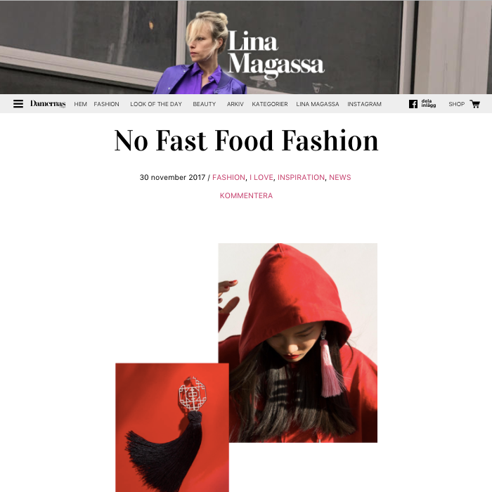 No Fast Food Fashion