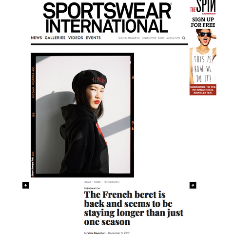 The French beret is back and seems to be staying longer than just one season