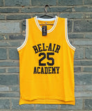 Carlton Banks Bel-Air #25 Jersey - Yellow