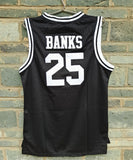 Carlton Banks Bel-Air #25 Jersey - Black