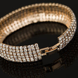 Diamond Shine Bracelet in Gold Rear View