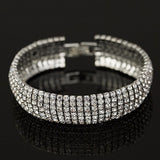 Diamond Shine Bracelet in Silver