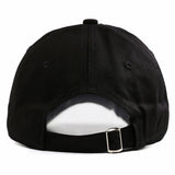 "1KingBrand, stylish savage dad hat. For those who are the ""real"" savages! Black back view"