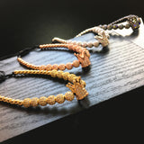 Men's fashion, assorted colors, 1King Golden grown, bracelet.