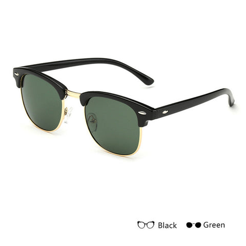 "Black/Green - ""Dope"" Sunglasses"