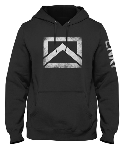 ENKI Icon- Heavyweight Hoodie- White Logo