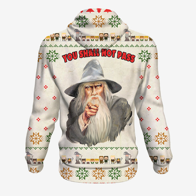 You Shall Not Pass - Lord of the Rings Hoodie