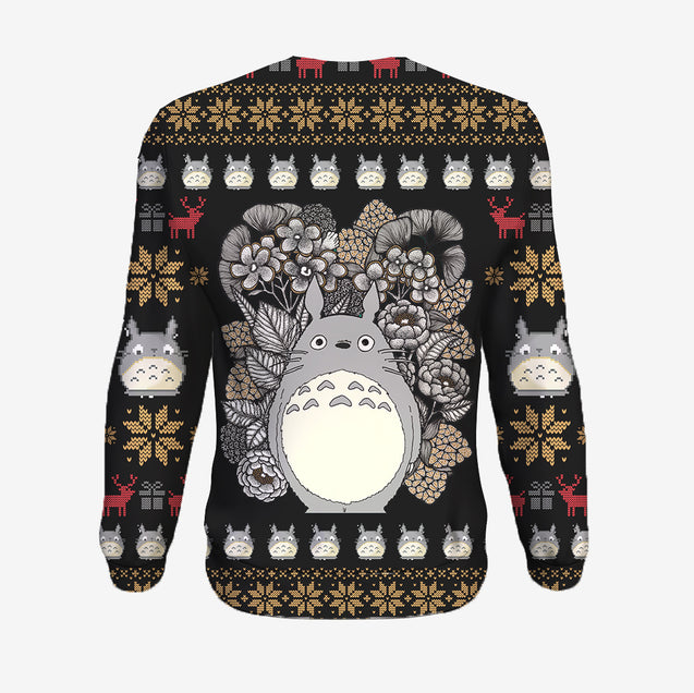 Flowers - My Neighbor Totoro Sweatshirt