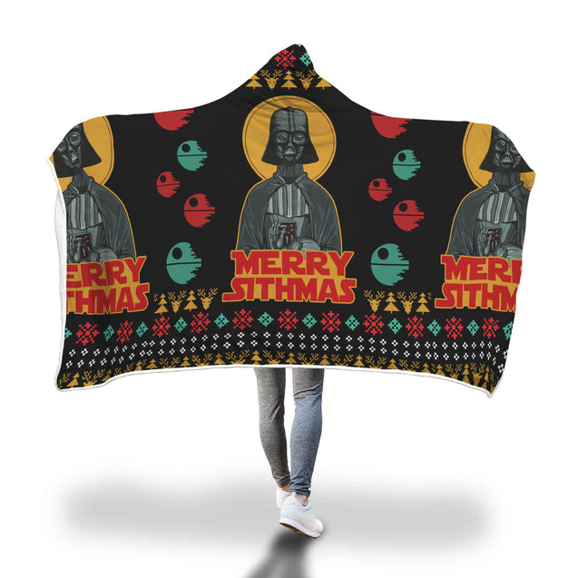 Merry Sithmas - Star Wars Hooded Blanket