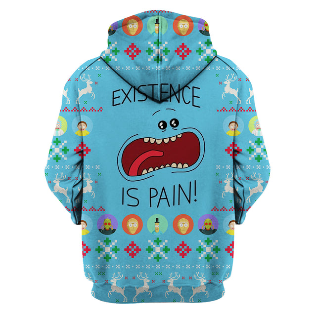 Existence is Pain - Rick and Morty Hoodie