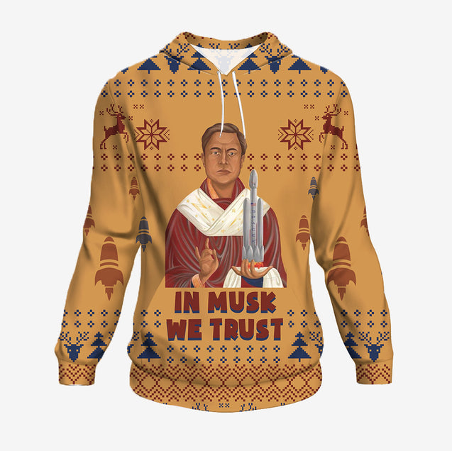 In Musk We Trust - Science Hoodie
