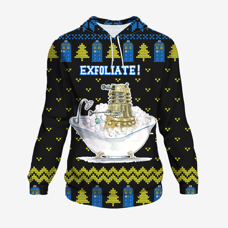 Exfoliate - Doctor Who Hoodie