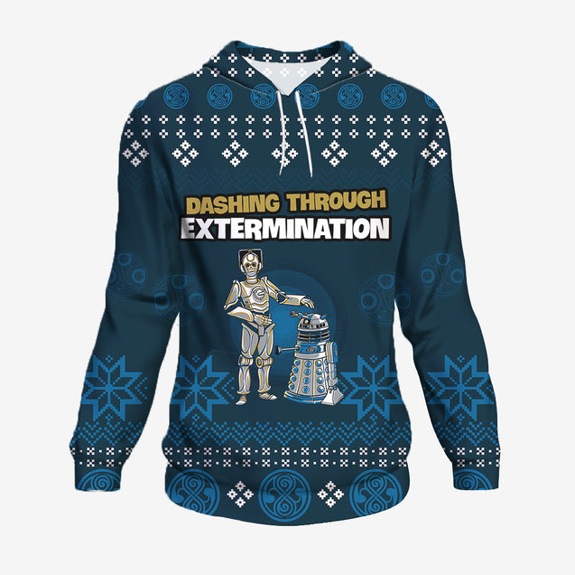 Dashing Through Extermination - Doctor Who Hoodie