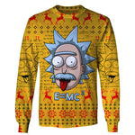Rick Einstein - Rick and Morty Long Sleeve