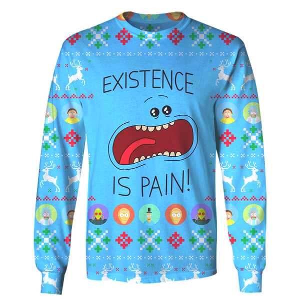 Existence is Pain - Rick and Morty Long Sleeve