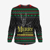 Merry Christmas You Filthy Hobbitses - Lord of the Rings Sweatshirt