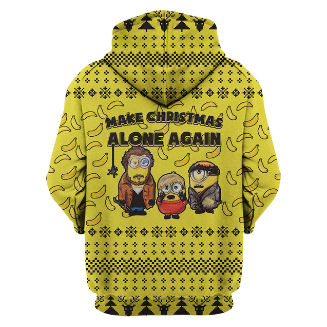 Make Christmas Alone Again - Home Alone Hoodie
