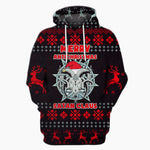 Merry Antichristmas Satan Claus - Funny Christmas Hoodie