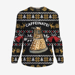 Caffeinate - Doctor Who Sweatshirt