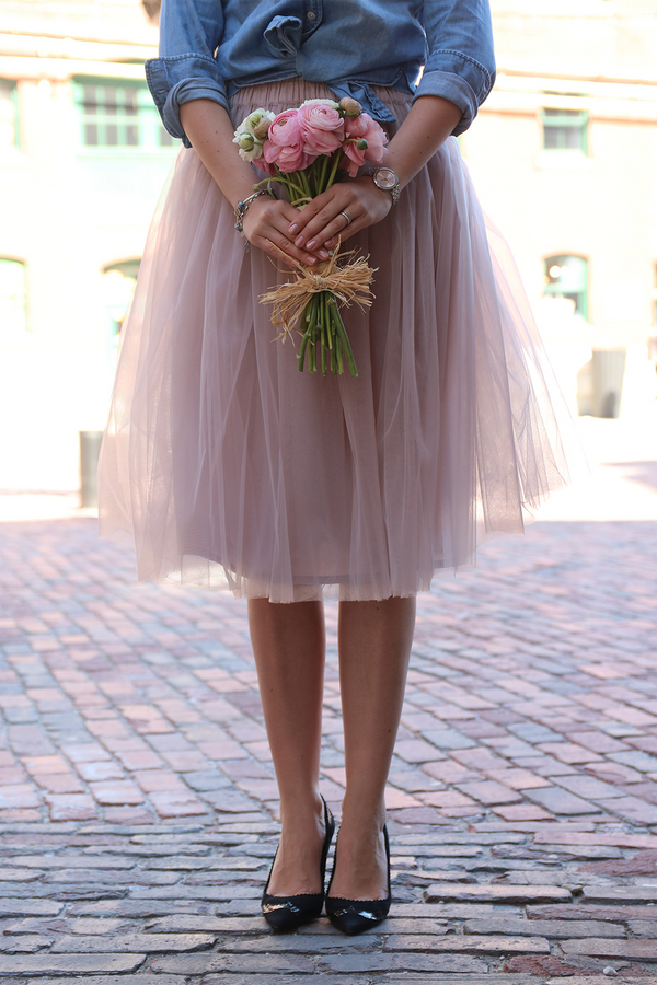 A guide to the perfect tulle skirt