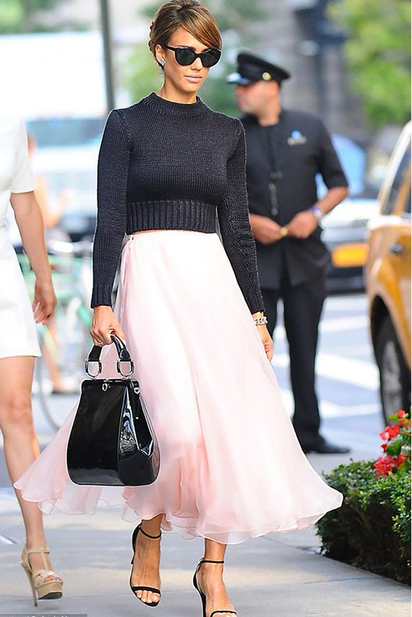 Celebrities love tulle skirts!