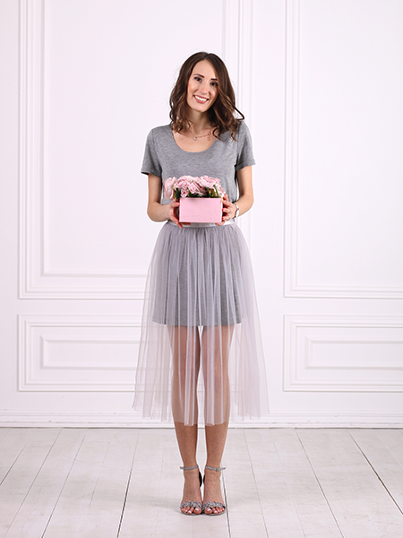 THE MONICA TULLE SKIRT + DRESS SET