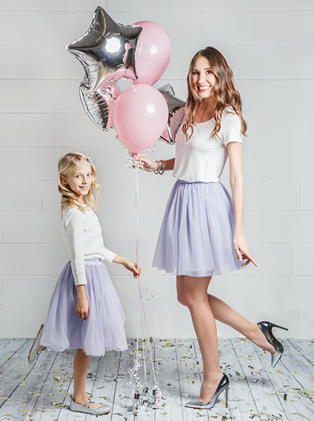 MOMMY AND DAUGHTER MATCHING TUTUS - Lilac