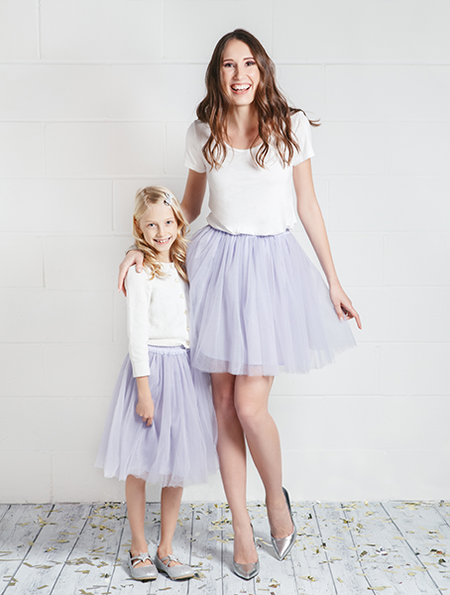 """ONE LOVE"" TULLE SKIRT + T-SHIRT SET"