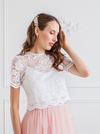 The Arielle Lace Crop Top