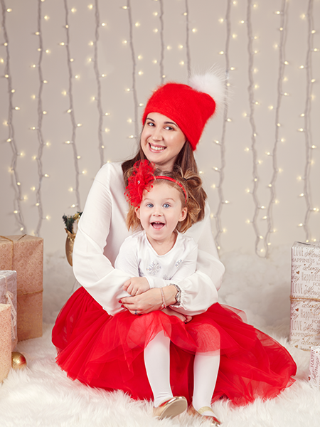 MOMMY AND DAUGHTER MATCHING TUTUS - Red